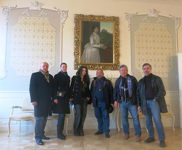 Пленэр Международной академии культуры и искусства в Словакии