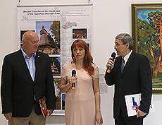 Выставка художников Международной академии культуры и искусства в Словацком институте в Москве