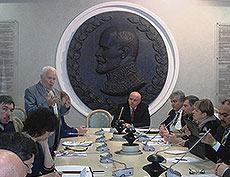 Круглый стол в Общественной Палате Российской Федерации в рамках Первого Международного Съезда – 2015 «Экология – Культура – Образование – Экономика»