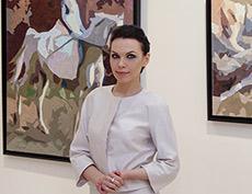 Открытие персональной выставки Елены Бегма