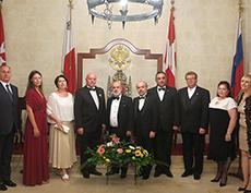 Торжественный вечер Международной академии культуры и искусства в Валлетте