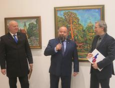 """Открытие выставки """"Русские художники в Словакии"""" в Словацком институте в Москве"""