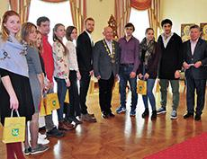 Первый молодежный пленэр в Словакии