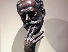 Открытие бюста П.И. Чайковского работы Александра Рожникова в Королевском театре Копенгагена