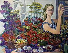 Открытие выставки, посвященной 75-летию Владивостокского художественного училища, в Приморской государственной картинной галерее
