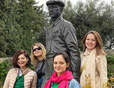 Русские художники в Грасе, Франция