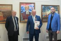Открытие персональной выставки Петра Стронского в Санкт-Петербурге