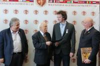 Вручение дипломов новым членам Международной академии культуры и искусства