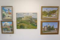 Картины Игоря Керемецкого, Петра Стронского и Сергея Борисова